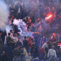 Calcio, aumenta la violenza negli stadi
