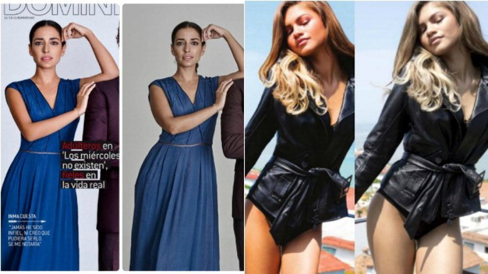 """""""Questa foto è ritoccata"""": in Francia legge contro Photoshop e modelle troppo magre"""