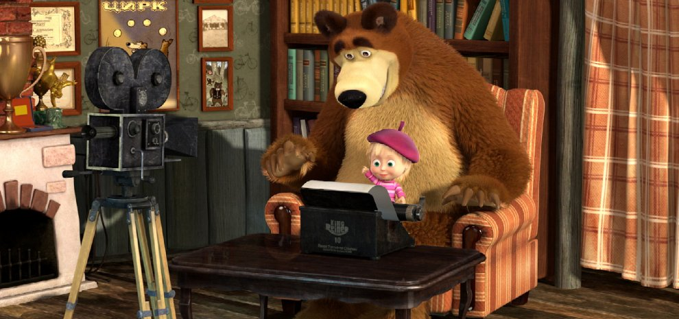 Oleg kuzovkov quot masha e orso la mia favola russa