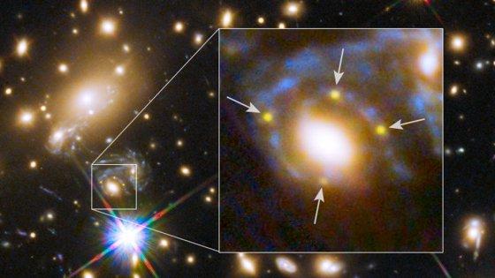 """Quella stella è esplosa di nuovo. Il """"replay"""" della supernova prevista grazie a Einstein"""