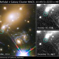 La supernova che riappare, prevista per la prima volta dagli scienziati