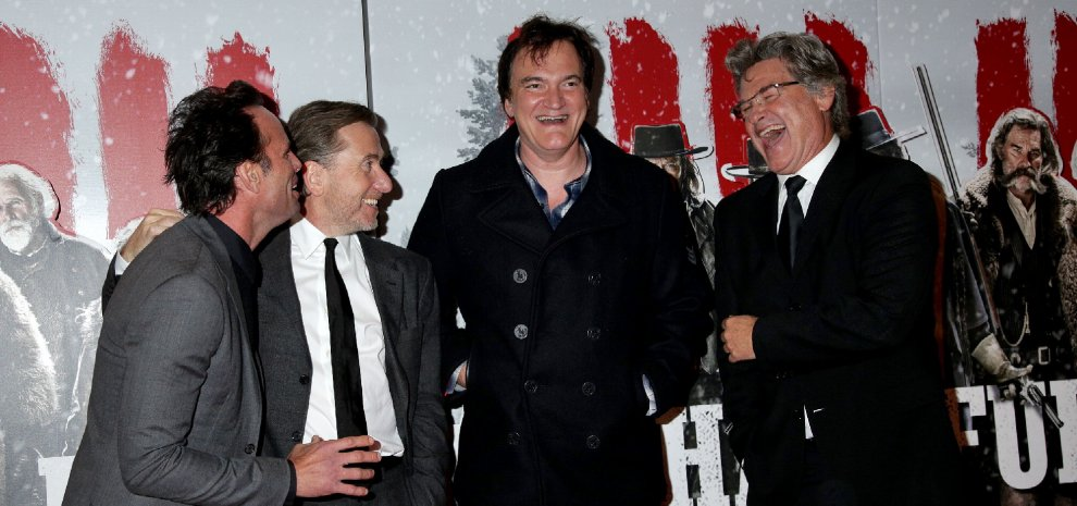 """""""The Hateful Eight"""", Tarantino & Co.: """"Abbiamo ingannato il freddo vestendoci da hawaiani..."""""""
