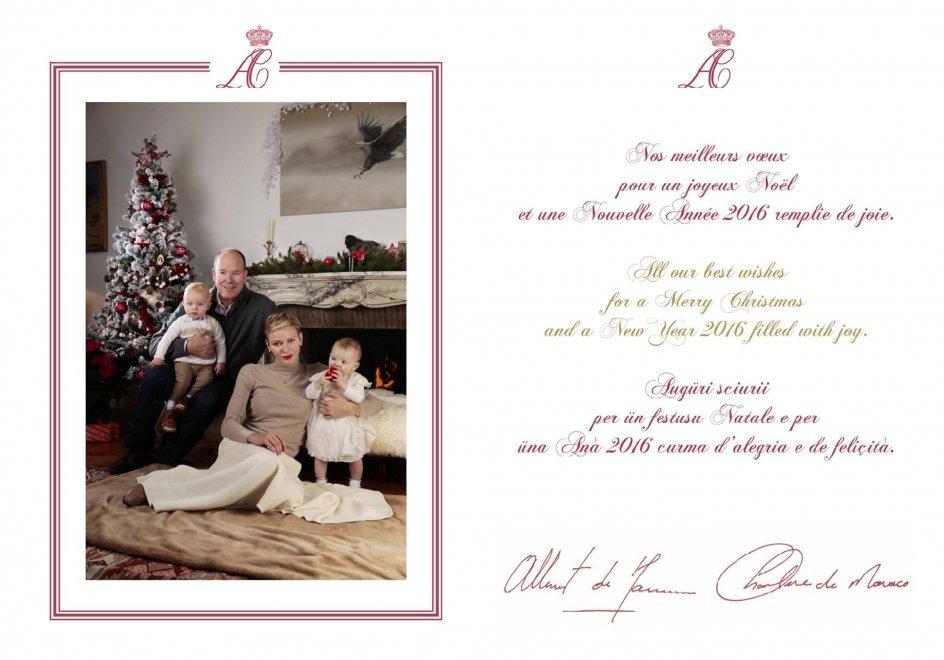Auguri Di Natale Famiglia.Alberto E Charlene Ritratto Di Famiglia Per Gli Auguri Di Natale