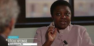 """Cécile Kyenge: """"Io attaccata per il colore della mia pelle"""""""