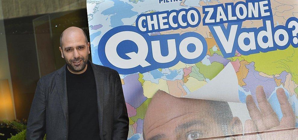 """""""Quo vado?"""", Checco Zalone e la storia di un italiano: """"Per far ridere ci vuole sensibilità"""""""