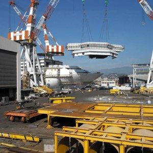 Fincantieri: accordo da 2,5 miliardi con Carnival per costruire 4 navi