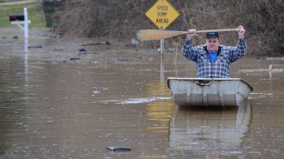 Usa, inondazioni nel Midwest: almeno 24 morti