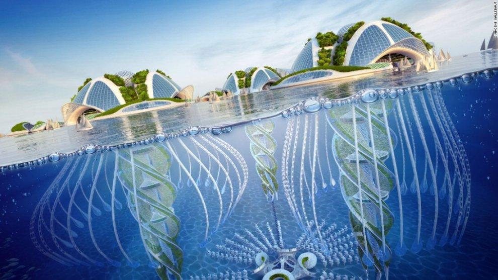 Vivere come nella ''Sirenetta'': dal Belgio progetto per i villaggi subacquei