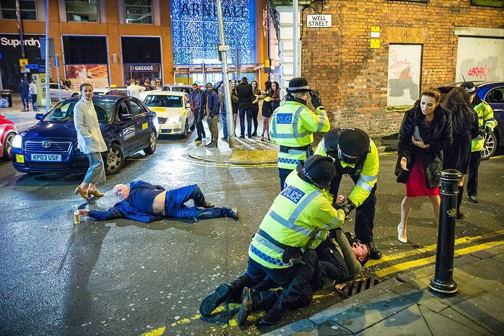 La foto più bella di Capodanno: a Manchester come in un quadro rinascimentale