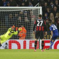 Inghilterra, Leicester sprecone: solo pari e vetta lasciata all'Arsenal. Avanza il City