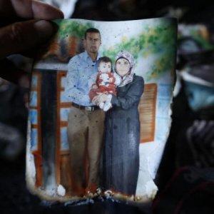 M.O, in rogo morì famiglia palestinese: incriminati estremisti israeliani