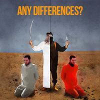 Decapitazioni, l'ira di Khamenei in un'immagine: