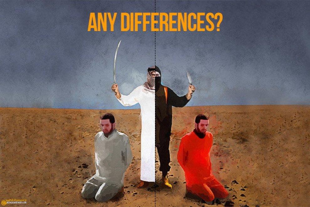 """Decapitazioni, l'ira di Khamenei in un'immagine: """"Arabia Saudita come l'Is"""""""