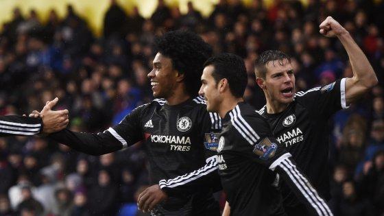 Inghilterra, tris del Chelsea al Crystal: è la prima vittoria di Hiddink