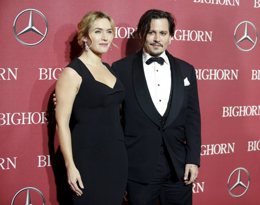 Kate Winslet e Johnny Depp: reunion undici anni dopo Neverland