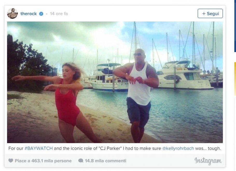"""""""Baywatch"""", ecco la nuova C.J. Parker: Kelly Rohrbach come Pamela Anderson"""