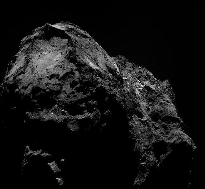 Cartoline dalla cometa: la 'vacanza' di Rosetta sui ghiacci