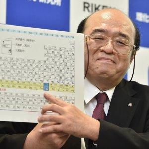 Nella tavola periodica entrano quattro nuovi elementi chimici