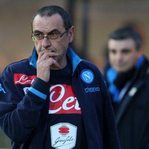 """Napoli, Sarri: """"Sosta troppo lunga, ripartiamo bene"""""""