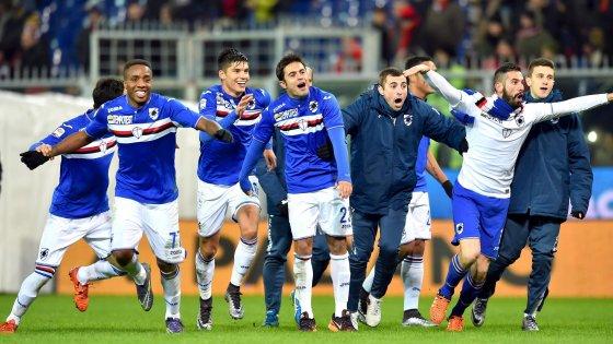 Genoa-Sampdoria 2-3: è blucerchiato il derby spettacolo, Pavoletti non basta ai rossoblù