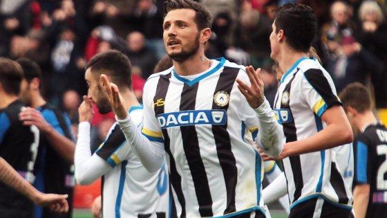 Udinese-Atalanta 2-1: Thereau e Perica affondano i bergamaschi