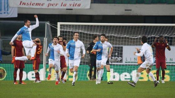 Chievo-Roma 3-3: Pepe riprende i giallorossi, Garcia resta in bilico