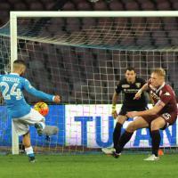 Napoli-Torino, il film della partita
