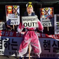 Seul, proteste in strada contro il leader nordcoreano: