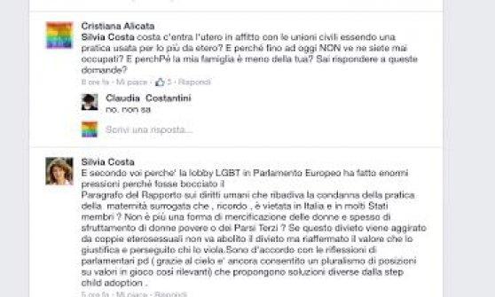 """Unioni civili, Alicata: """"Via dal partito chi parla di lobby gay"""". Renzi e Boschi cercheranno mediazione"""