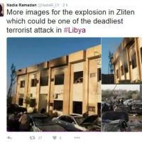Libia, camion-bomba contro base polizia a Zliten