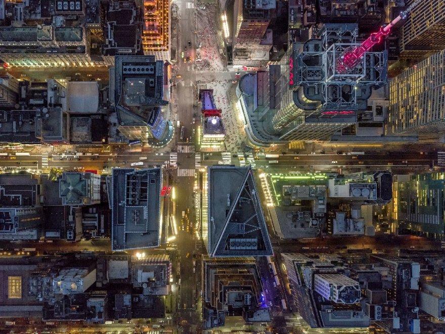 L'America guarda in alto: dall'elicottero vi fotografa Jeffrey