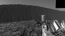 Curiosity fotografa da vicino una duna marziana