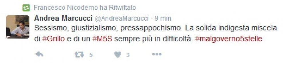 Grillo contro Boschi: su Twitter rilancia attacchi sessisti degli utenti al ministro