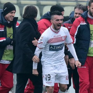 Carpi-Udinese 2-1: gol storico di Pasciuti, i friulani si svegliano tardi
