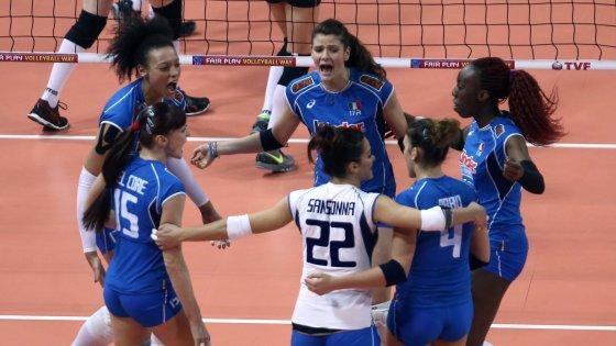 Volley donne, preolimpico: l'Italia batte la Turchia e resta in corsa per Rio