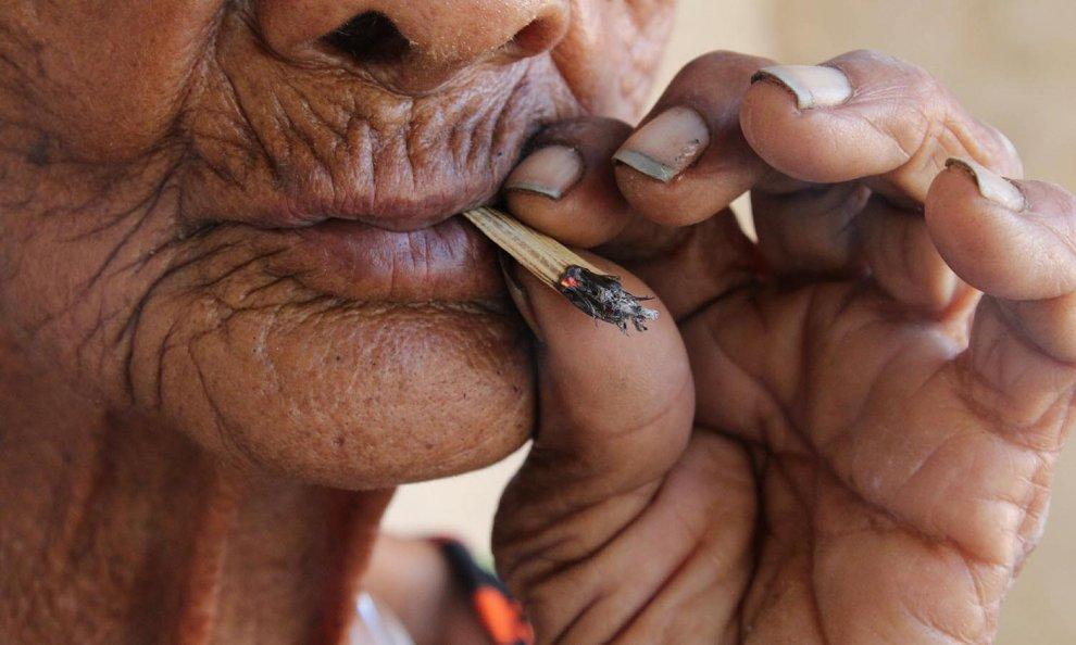 Quello che è provato dalla persona quando smesso fumando