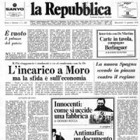 Hai ancora il primo numero di Repubblica? Mandaci il tuo selfie con la prima pagina (se non ce l'hai, te la regaliamo noi il 14)