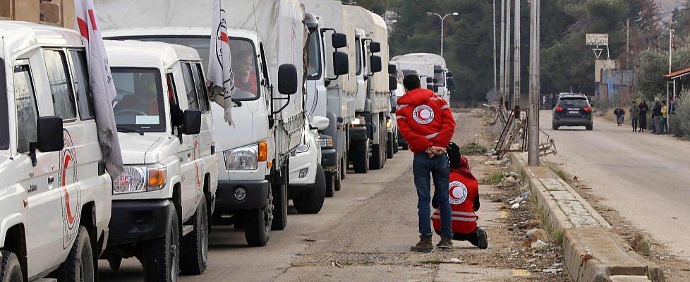 Siria, convogli con aiuti arrivati a Madaya e in due villaggi sciiti
