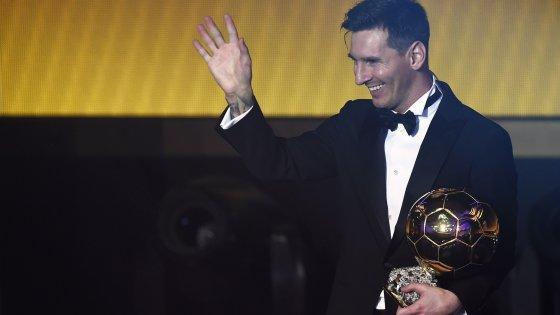 Pallone d'Oro, Messi al quinto trionfo. Gol più bello: Florenzi non ce la fa