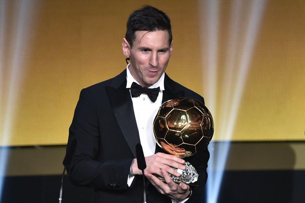 Pallone d'Oro, è ancora Messi