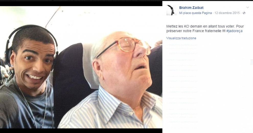 Pubblicò selfie con Le Pen che dorme: Fn chiede i danni al ballerino ex di Madonna
