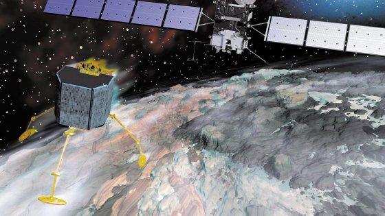 Silenzio dalla cometa, il lander Philae non risponde