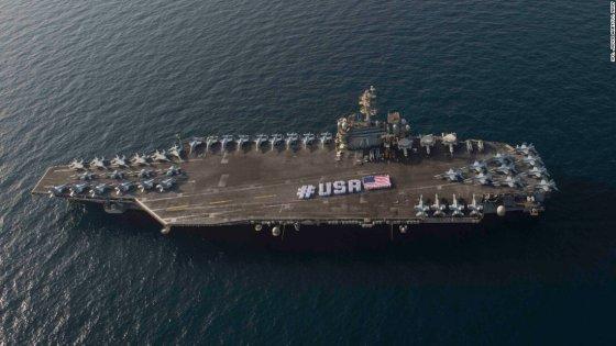 Iran cattura due navi Usa nel Golfo Persico: rilasciati i 10 marinai