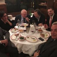 Rai, consiglio di amministrazione in ristorante a Roma
