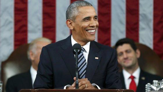 """L'ultimo discorso di Obama sullo Stato dell'Unione: """"No all'odio verso i musulmani"""""""