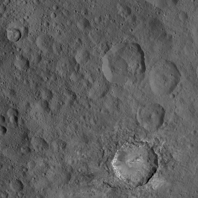 Cerere come non lo avete mai visto: mai così vicino al pianeta nano