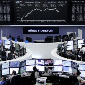 Leggero rialzo per i mercati Ue, ma Wall Street chiude ancora in rosso. Petrolio sotto pressione