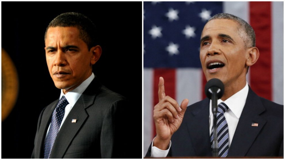 Obama (2009-2016) com'è cambiato il presidente: il fotoconfronto