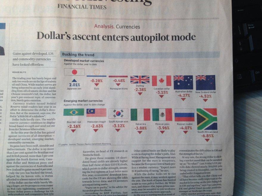 """Il Financial Times ci caccia dall'euro e ci riporta alla """"liretta"""""""