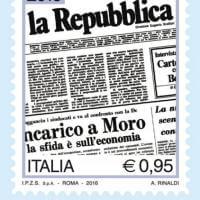 Un francobollo per i 40 anni di Repubblica